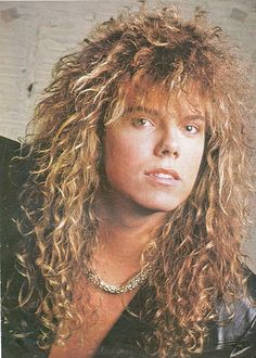 Joey Tempest Lead Singer of Europe.   Ooh I love his hair.