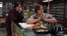 "John Cusack and Jack Black in ""High Fidelity"" (2000)"