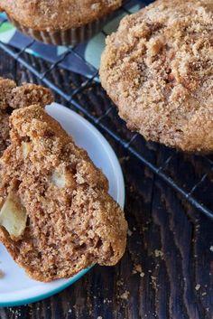 Apple Muffins Recipe #kingarthurflour