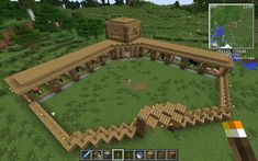 Effective Ways To Get More Out Of Minecraft Building Ideas Where you place your buildings and trees, where you decide to plow, and where you set your decorations and other doo dads has an effect on the total s. Minecraft Farmen, Construction Minecraft, Amazing Minecraft, Minecraft Survival, Minecraft Tutorial, Minecraft Blueprints, Cool Minecraft Houses, Minecraft Crafts, Minecraft Buildings