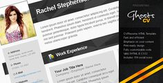 Review Ghosts CV/Résumé - HTML TemplateYes I can say you are on right site we just collected best shopping store that have