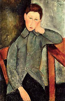 Amedeo Modigliani - The Boy
