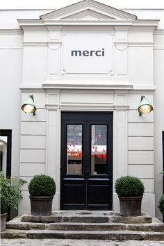 First shopping stop Merci. Merci has become my second home. I love eveything about this shop, the products, the space, the wonderful restaurants and cafe... Merci 111 Boulevard Beaumarchais Paris 75003