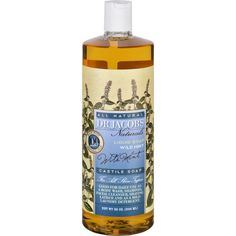 Dr. Jacobs Naturals Liquid Soap - Castile - Wild Mint - 32 Oz
