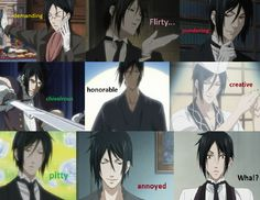 The Many Faces Of Sebastian Michealis - sebastian-michaelis Photo