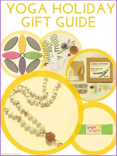 Yoga Holiday Gift Guide + Giveaway - Pin now, read later!