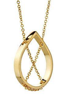 Vanessa Gade PETAL NECKLACE IN YELLOW GOLD