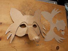 Simlpe Fox Mask (3) | Flickr - Photo Sharing!