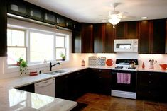 White Cabinets Black Countertop Grey Backsplash - Best Furniture ...