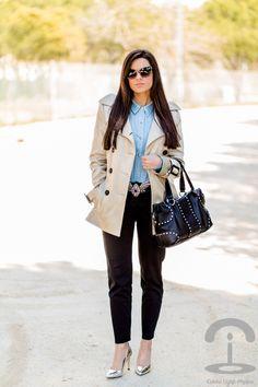 Crimenes de la Moda - Mirror shoes - Zapatos espejo - Plata - silver - Lolita Blu - trench - gabardina - BCBG Max Azria - dolce & Gabbana - Mango - Zara
