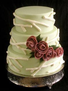 Fondant Wedding Cakes Designs