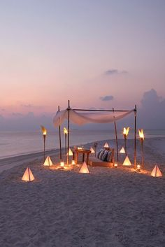 maldives honeymoon Consider a unique wedding venue with a secluded sandbank ceremony held on the shores of these luxury Maldives resorts. Dream Vacations, Vacation Spots, Weekend Vacations, Vacation Wear, Italy Vacation, Romantic Places, Romantic Beach, Romantic Honeymoon, Romantic Evening
