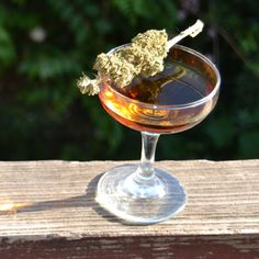 Cannabis-Infused Whiskey Cocktail | FWx