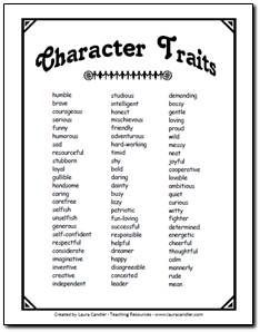 A Great List Of Personality Traits For BeginnerIntermediate