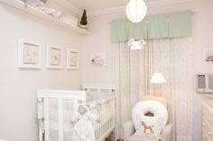 Mint and old white nursery.