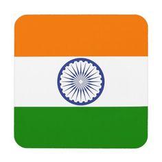 Indian Flag Coaster