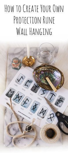 Click to learn how to use Runes for spellwork, divination, and as a protective tool- plus, get a free DIY Runescript wall hanging printable! With Samhain and Halloween around the corner, it is the ideal time to perform spells and divination of all kinds. Using Runes can cover all of these magical bases!