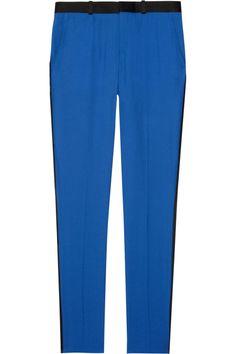 EACH X OTHER|Crepe tuxedo pants|NET-A-PORTER.COM