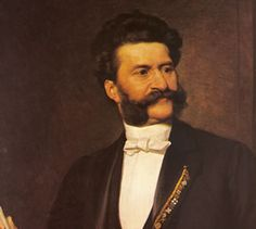 "Johann Strauss, also known as the Viennese Waltz King, is extremely famous for his ""Blue Danube"" waltz and his ""Emperor"" waltz."