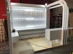 pre montaje de stand en nuestras instalaciones Blinds, Home Appliances, Curtains, Home Decor, House Blinds, House Appliances, Homemade Home Decor, Blind, Appliances
