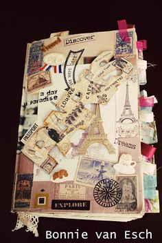 Living life creatively...: Paris Travel Journal 2009 {pics} in old catalogue. Cool!