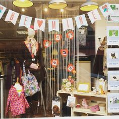 Valentine's window at our Moorland Road Charity Emporium, so many pretty items. The shop is open on Saturday!