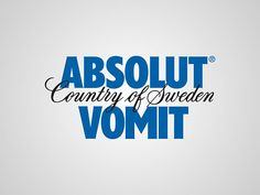 Absolut Vodka is a brand of vodka, produced near Åhus, Skåne, in southern Sweden. Absolut is owned by French group Pernod Ricard; they bought Absolut for Absolut Vodka, Start Logo, Designer Couch, Advertising Logo, Advertising Campaign, World Icon, Name Origins, Clever Logo, Entertainment