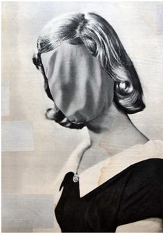 "workers-and-parasites: "" Wrinkle Face - Kerstin Stephan "" Modern Art, Contemporary Art, Silence, Fashion Illustration Vintage, Face Wrinkles, Collage Art, Art Collages, Vincent Van Gogh, Cartoon Art"