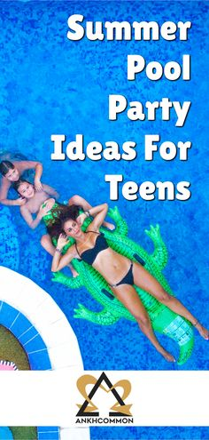 Summer Pool Party Ideas For Teens! Add these summer fun activities as a boredom buster for teens to your teenage bucket lists and summer bucket lists. Source by ankhcommon Pool Activities, Fun Summer Activities, Activities For Teens, List Of Activities, Pool Party Themes, Pool Party Decorations, Backdrops For Parties, Party Ideas, Fun Ideas