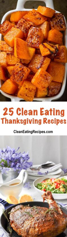 Want to make a great Thanksgiving dinner this year, you can with these 25 best clean eating Thanksgiving recipes. What, is my food dirty?