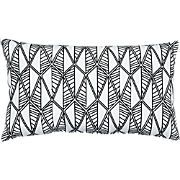 "frond 20""x12"" outdoor pillow"