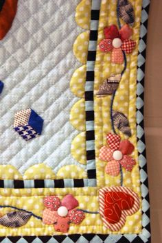 such a cute quilt border