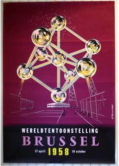 The Atomium, Brussels Belgium
