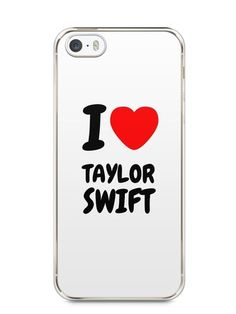 Capa Iphone 5/S I Love Taylor Swift