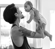 Daddy and Baby Playing Togetherness Love Emotional | premium image by rawpixel.com