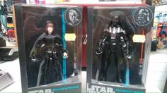 Star Wars black edition action figures