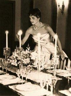 Jackie O Table Setting