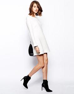 Enlarge BA&SH Nad Dress with Frill Shoulder