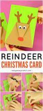 Fun Christmas Craft Idea f Reindeer Christmas Card DIY Reindeer Christmas Card. Fun Christmas Craft Idea for Kids to Make. Christmas Arts And Crafts, Preschool Christmas, Diy Christmas Cards, Christmas Activities, Christmas Projects, Christmas Themes, Holiday Crafts, Christmas Holidays, Reindeer Christmas
