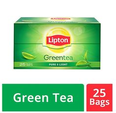 LIPTON Pure Green Tea (25 bag)- JAPANESE TASTE #Lipton Pure Green Tea, Jasmine Green Tea, Tea Strainer, Tea Infuser, Lipton Green Tea, Organic Matcha Powder, Japanese Taste, Matcha Green Tea Latte, Green Tea Bags