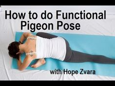 How To Do Pigeon Pose The Right Way - mindbodygreen