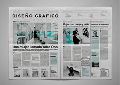 tipografia on Behance Editorial Design Magazine, Magazine Layout Design, Newspaper Design Layout, Mise En Page Magazine, Newsletter Design Templates, Web Design Trends, News Design, Publication Design, Design System