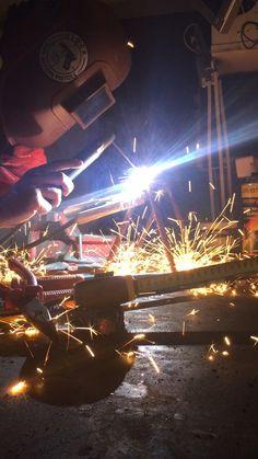 Welding project steel