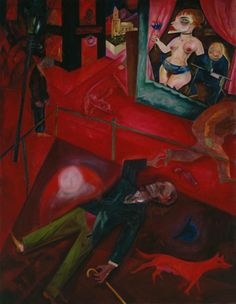 Suicide, George Grosz, 1916.    Google Image Result for http://www.tate.org.uk/art/images/work/T/T02/T02053_10.jpg