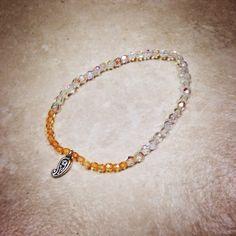 Little Leaf Charm Bracelet on Etsy, $14.00