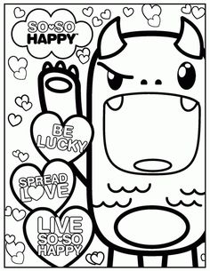 Free Best Mom Ever Coloring Page Kawaii Coloring Pages