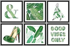 TROPICAL VIBES: Print of Hand Painted Illustration by HOBBRY