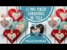 Applique, Christmas Ornaments, Holiday Decor, Videos, Youtube, Medium, Beginner Sewing Projects, Craft Tutorials, Making Throw Pillows