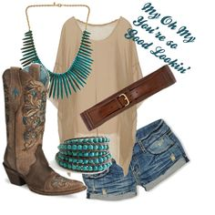 Love this!  Perfect for rodeo season. And these are also the boots I just pinned.... lol I'm bored :p
