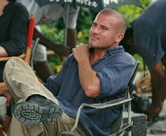 Dominic Purcell Dominic Purcell, Wentworth Miller, Prison Break, Baby Strollers, Cinema, Celebrities, Children, Baby Prams, Young Children